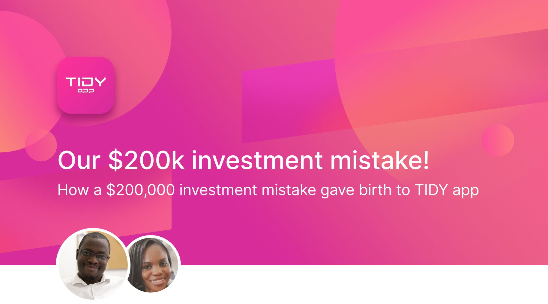 Our $200k investment mistake!